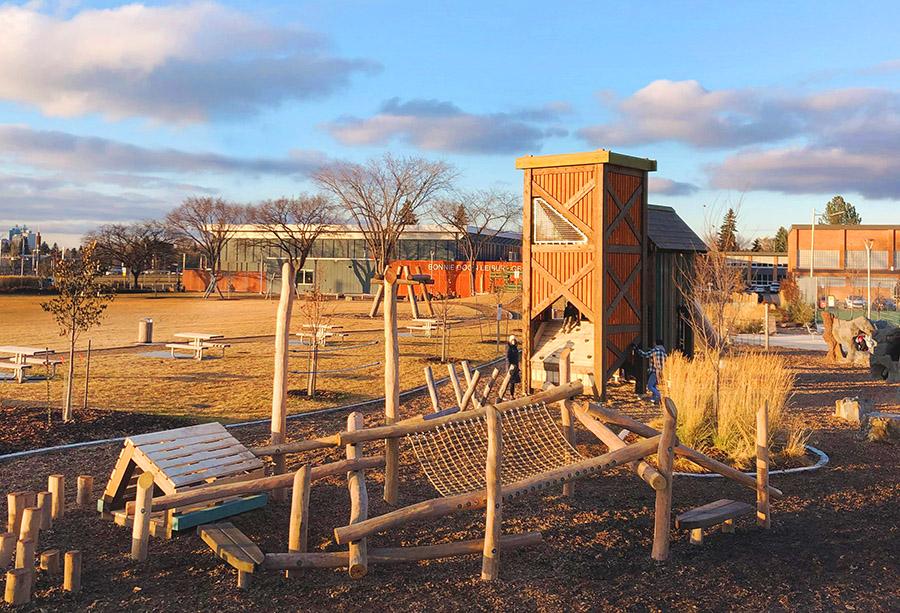 Dermott Alpine Headwaters playground design Alberta
