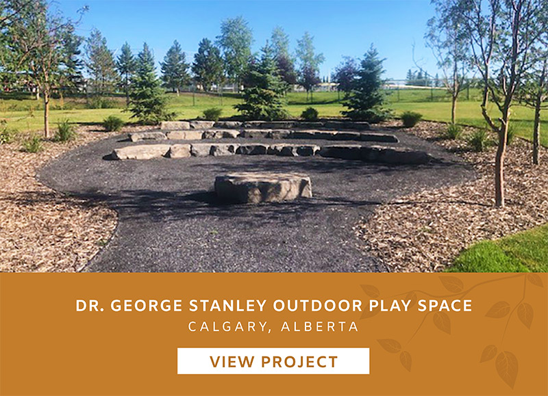 Dr George Stanley Outdoor Play Space Calgary Alberta Playgound