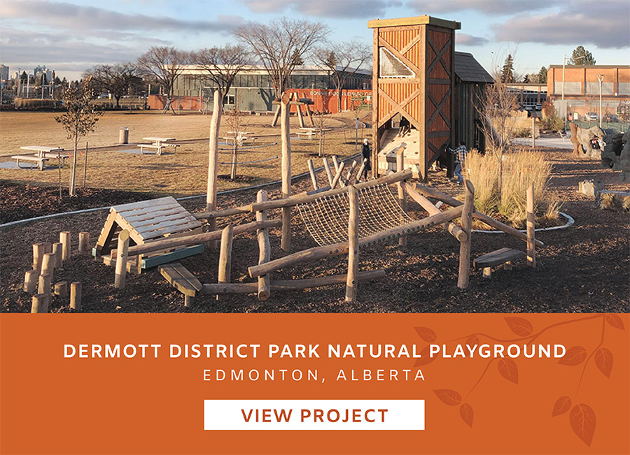 Edmonton Alberta Playground Landscape Design Project