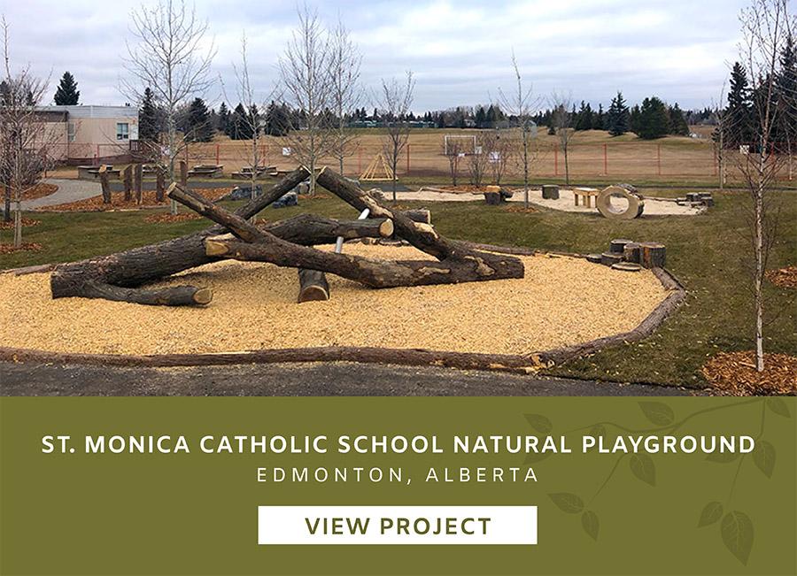 St Monica Catholic School Edmonton Alberta Playgound Design