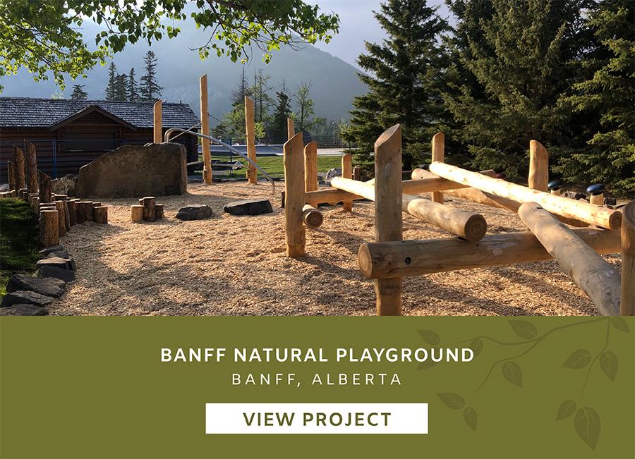 Banff Alberta Playgound Landscape Design Project