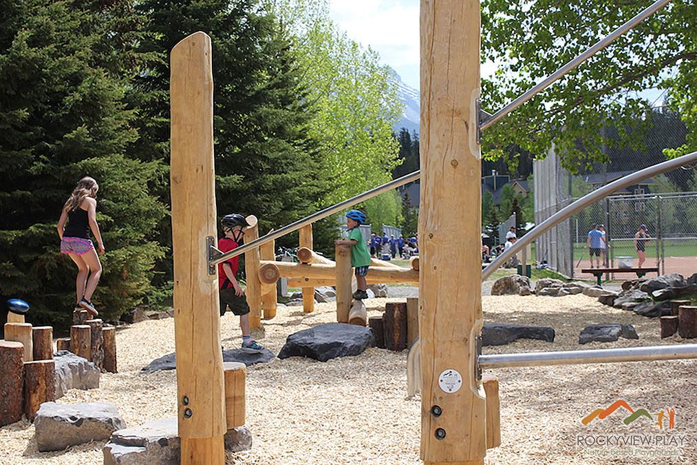 Banff Canada Playground designer