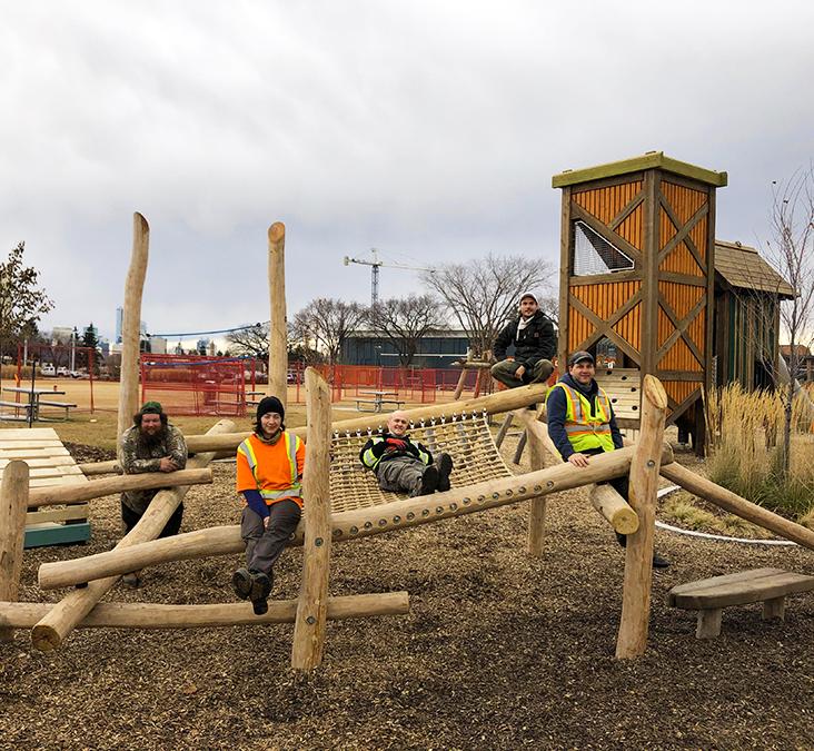 Calgary Alberta Playground Landscaping