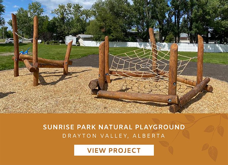 Sunrise Natural Park Alberta Playgound Landscape Design Project